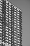 De zwart-witte Bouw Royalty-vrije Stock Foto's