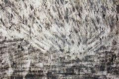 De zwart-witte concrete achtergrond van de Grungekras Royalty-vrije Stock Foto