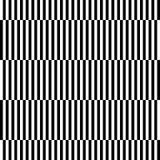 De zwart-witte geometrische samenvatting van het streep naadloze patroon backg Royalty-vrije Stock Fotografie