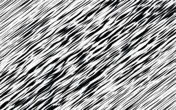 De zwart-witte Optische Abstracte Achtergrond van de Golfstreep stock illustratie