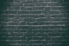 De zwarte achtergrond van de bakstenen muurtextuur De abstracte textuur van de steenbaksteen voor ontwerpers Donkere steenoppervl Royalty-vrije Stock Foto's