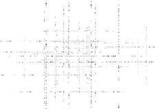 De zwarte achtergrond van de deeltjes vectortechnologie van de grungecirkel vector illustratie