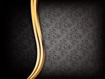 De zwarte Achtergrond van de Luxe Stock Foto