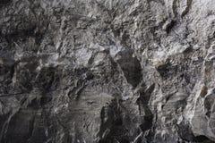 De zwarte achtergrond van de muursteen Royalty-vrije Stock Afbeeldingen