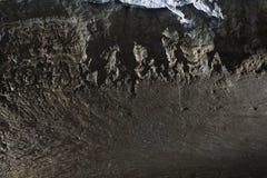 De zwarte achtergrond van de muursteen Royalty-vrije Stock Foto