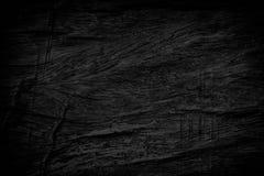 De zwarte achtergrond van de grungetextuur Houten grungetextuur op nood Royalty-vrije Stock Afbeeldingen