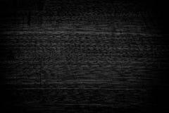 De zwarte achtergrond van de grungetextuur Houten grungetextuur op nood Royalty-vrije Stock Fotografie