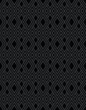 De zwarte achtergrond van het diamantpatroon Royalty-vrije Stock Fotografie