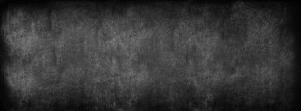 De zwarte Achtergrond van het Klaslokaalbord School Uitstekende Textuur stock foto's