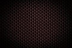 De zwarte achtergrond van het textuurcanvas Stock Foto