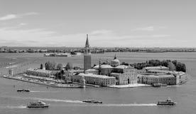 De zwarte & het wit van Venetia stock foto