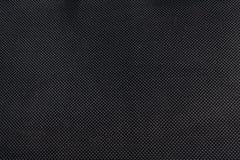 De zwarte canvastextuur Stock Afbeelding