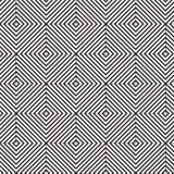 De zwarte diamantlijn het mengen achtergrond van het vormpatroon Stock Foto's