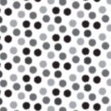 De zwarte en zilveren schaduw ruwt de achtergrond van het cirkelpatroon Stock Foto