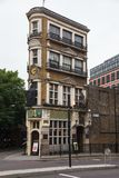 De Zwarte Frater Pub London het UK stock fotografie