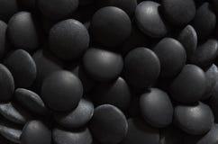 De zwarte gaat stenen Stock Afbeeldingen