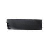 De zwarte geïsoleerde band van de steendoek Royalty-vrije Stock Afbeelding