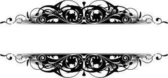 De zwarte Grens van de Rol royalty-vrije illustratie
