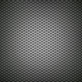 De zwarte grill van het netwerkmetaal stock foto