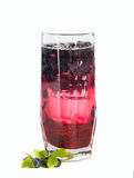 De zwarte huidige drank van de jamverfrissing Royalty-vrije Stock Foto's