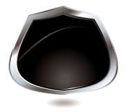 De zwarte hurkzit van Backlite Stock Afbeelding