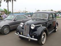 De zwarte kleur Austin 12 exhbited in Chorrillos, Lima Royalty-vrije Stock Foto
