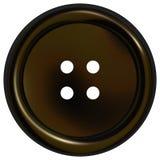 De zwarte Knoop van Kleren Vector Illustratie