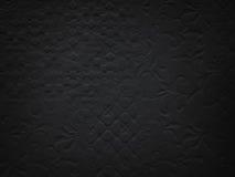 De zwarte muur van het steenpatroon Stock Fotografie