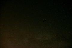 De zwarte overvloed van de nachthemel van sterren met Stock Afbeelding