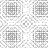 De zwarte Samenvatting trekt het Patroon van de Ornamentruit Naadloze Vectorillustratie Als achtergrond Stock Foto's
