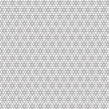 De zwarte Samenvatting trekt van het het Netpatroon van het Sterrenornament Vectorillustratie Als achtergrond Royalty-vrije Stock Foto's