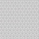 De zwarte Samenvatting trekt van het de Ruitnet van het Sterrenornament het Patroon Vectorillustratie Als achtergrond Stock Afbeeldingen