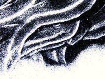 De zwarte schittert fonkeling op witte achtergrond wordt geïsoleerd die Royalty-vrije Stock Afbeelding