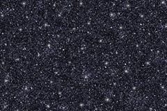 De zwarte schittert textuur Royalty-vrije Stock Afbeeldingen