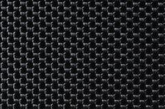 De zwarte stof van de close-up Stock Afbeeldingen