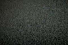 De zwarte Textuur van het Leer Stock Foto