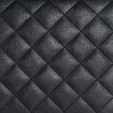 De zwarte Textuur van het Leer Royalty-vrije Stock Foto's