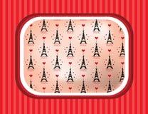 De zwarte toren van Eiffel Royalty-vrije Stock Fotografie