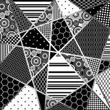 De zwarte van Abstratcion en wight Royalty-vrije Stock Afbeelding