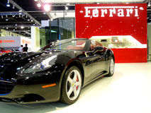 De Zwarte van Californië van Ferrari Stock Fotografie