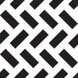 De zwarte van het rechthoekpatroon Royalty-vrije Stock Fotografie