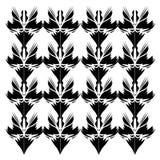 De zwarte van Mandalas van het luxeontwerp--wit oriënteer vector illustratie