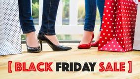 De zwarte Verkoop van de Vrijdag Stock Foto's