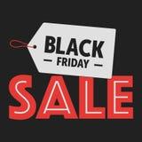De zwarte Verkoop van de Vrijdag Royalty-vrije Stock Fotografie