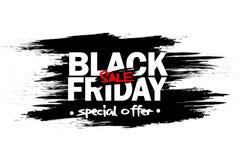 De zwarte Verkoop van de Vrijdag stock illustratie