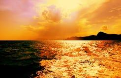 De Zwarte Zee Stock Afbeelding