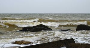 De Zwarte Zee Royalty-vrije Stock Foto