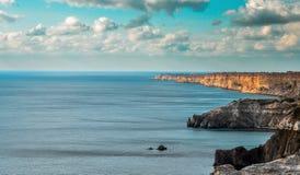 De Zwarte Zee Stock Foto