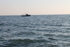 De Zwarte Zee, Adler Rusland Royalty-vrije Stock Foto's