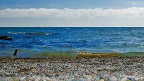 De Zwarte Zee crimea Stock Afbeeldingen